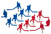 Carrom Stick Hockey Players Solid Colour Set