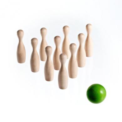 Green Mini Bowling Game