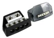 New Kicker DB4 Distribution Block w/ 2) 1/0-8 Gauge Inputs and 4) 8 Ga Outputs