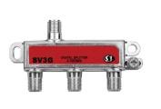 3 Way Unbalanced HD Digital 1GHz High Performance Coax Cable Splitter - SV3G