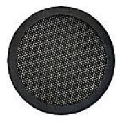 "10cm and 13cm "" Diameter 2-Pc Mesh Speaker Grill - Black"
