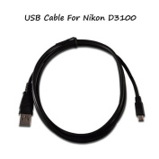 UC-E4 USB Cable For Nikon D3100 Camera, And USB Computer Cord For Nikon D3100.