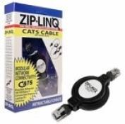 Ziplinq ZIP-DATA-RJ45 Retractable Cable, 8P4C, RJ45, Networking