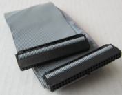 60cm 3 Connector 50-pin SCSI Internal Flat Ribbon Cable - Terminator and Resistor NOT Included
