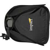 Impact Quikbox Softbox (38cm x 38cm ) with bracket for on camera flash