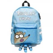 Regular Show Mordecai Hooded Blue Backpack