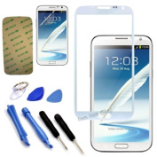 Original Front Screen Outer Glass Lens for for for for for for for for for for for Samsung Galaxy Note II / N7100