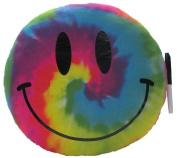 Tie-Dye Smiley Autograph Pillow, Camp Autograph Pillow