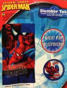 Marvel Spiderman Slumber Bag, Pushlight and Tote Bag