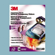 3M Transparency Film For Infrared Printers, Clear, 22cm . x 27cm ., 4 Mil, Box Of 100 Sheets