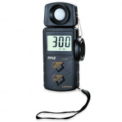 Pyle PLMT21 Handheld Lux Light Metre Photometer with 20000 Lux Range Per Second Sampling and Digital Display