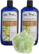Dr. Teal's Foaming Bath, Chamomile, 34 Fluid Ounce