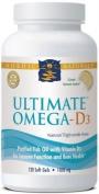 Nordic Naturals - Ultimate Omega D3 - 120ct