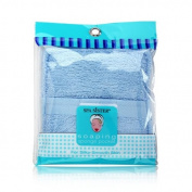 Spa Sister Terry Bath Sponge Pocket Blue