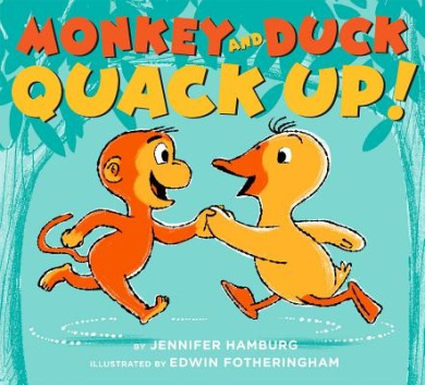 Monkey and Duck Quack Up!