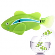 Sannysis2008 Green Robo Fish Electronic Clownfish