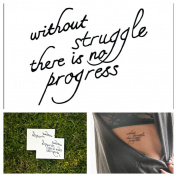 Temporary Tattoo Quote