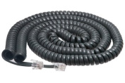 Cisco Handset Grey Curly Cord 7.6m Uncoiled / 1.2m Coiled