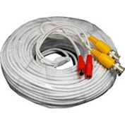 Acelevel 18m Video Power BNC RCA Cable for Q-See CCTV Security Cameras