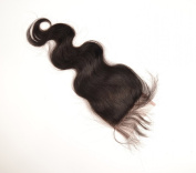 Virgin Brazilian Hair Lace Top Closure(10cm *10cm ) Body Style,41cm Natural Colour
