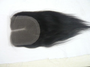 Wholesale Mid- Part Lace Front Top Closure Malaysian Virgin Remy Hair natural straight 5*5 natural colour Can Be Dyed