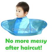 Kids Children Haircut Haircutting Hair Cut Catcher Apron Cape Hairdresser Barber
