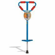 GeoSpace Medium Jumparoo Boing! I Pogo Stick By Air Kicks For Kids 27-45kg, Blue