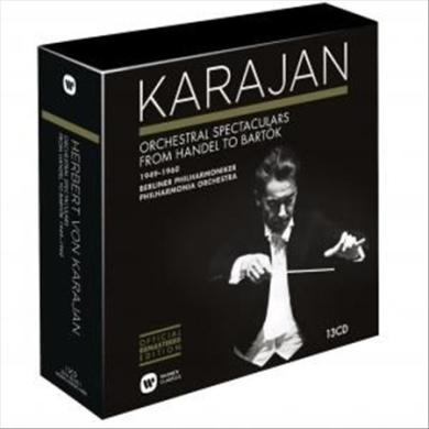 Karajan: Orchestra Spectaculars from Handel to Bart¢k