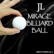 Mirage Billiard Balls by JL (WHITE, single ball only) - Trick