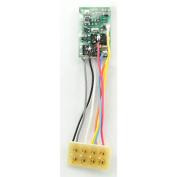 HO Decoder Harness, 2.5cm M1P/2-Function 8-Pin 1A