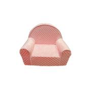 Fun Furnishings My First Chair, Pink Minky Dots