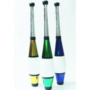 Zeekio Pegasus Juggling Club -Set of Three - Gold Green Blue