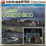 Historic Puerto Rico - 3 ViewMaster Reels 3D - Unsold store stock - never opened