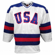 1980 US Olympic *Miracle On Ice* Replica Home Jersey