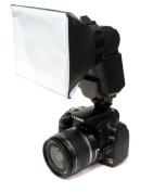 Opteka SB-1 Mini Universal Studio Soft Box Flash Diffuser for the Olympus FL-600R, FL-50R, FL-36 & Panasonic DMW-FL360L, FL220, FL580L, FL500 Flashes