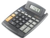 Calculator 8 Digit Big Display Large Button Adjustable LCD Screen 14cm X 19cm