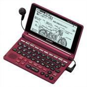 SHARP Papyrus Electronic Dictionary | PW-AM700-R Red