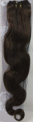 46cm Colour:light Brown (#6) Body Wave Brazilian Virgin Remy Hair Wefts - 100% Raw Virgin Human Hair Weave