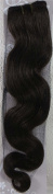 46cm Colour:medium Brown (#4) Body Wave Brazilian Virgin Remy Hair Wefts - 100% Raw Virgin Human Hair Weave