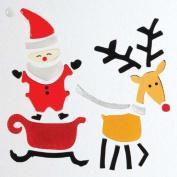 GelGems Rudolph & Sleigh Small Bag Gel Clings