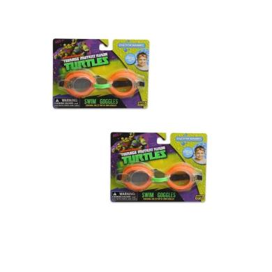 2 Pack - Teenage Mutant Ninja Turtles Swim Goggles