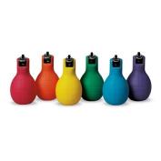Nasco PE07928E Squeeze Whistles, Set of 6