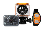 HP 2.1cm Action Cam ac200w Waterproof Video Camera with OLED