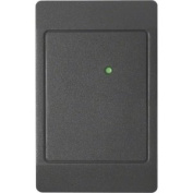 HID ThinLine II 5395 (5395CK100) 125 kHz Proximity Wall Switch Reader, Classic Black, Pigtail