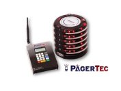 Restaurant Paging System, Coaster Style System, Red LED Lights