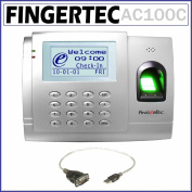 Fingertec Full Colour Biometric Time Attendance System for 3000 Fingerprints - Fingertec AC-100C