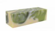 White Tea Mint Handmade Artisan Olive Oil Soap Loaf -1.4kg