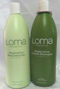 Loma Organics Repairative Creme Shampoo/ReConstructor Conditioner Duo 1000ml