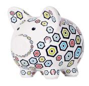 C.R. Gibson Ceramic Piggy Bank, Loverboy