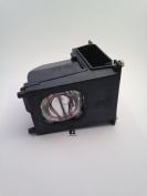 GLAMPS 915P027010 Replacement Lamp with Housing for Mitsubishi TVs - 150 Day Warranty